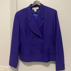 Vintage Christian Dior Double Breasted Blazer